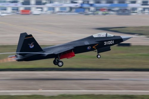 China's J-31 Stealth Fighter: A Threat to the U.S. Air Force?