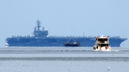 The Threat to U.S. Navy Aircraft Carriers Isn't Just from China