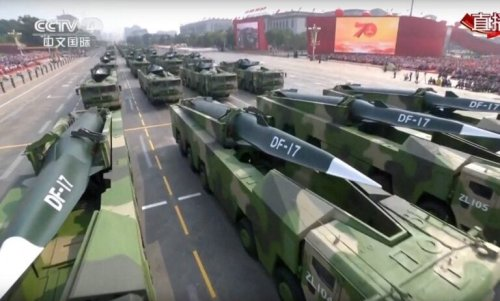 China's DF-17 Hypersonic Weapon: A Killer the U.S. Military Can't Match