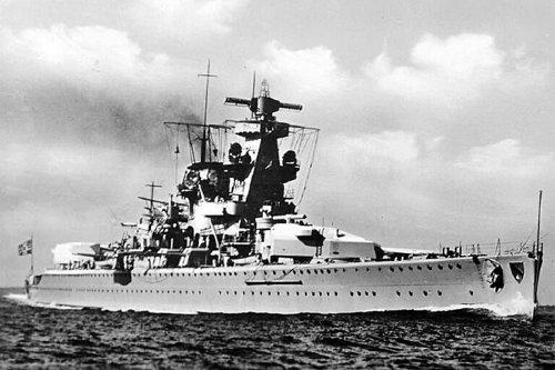 Admiral Scheer: The Nazi Pocket Battleship That Was 'Buried Alive'