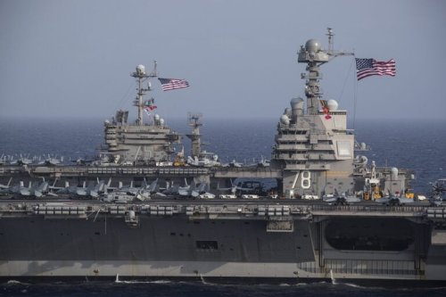 U.S. Navy's USS Gerald R. Ford: The Largest Warship on the Planet