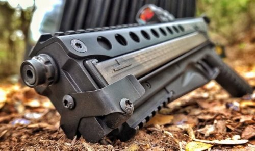 Kel-Tec's New P50 Pistol Can Hold An Insane 51 Bullets