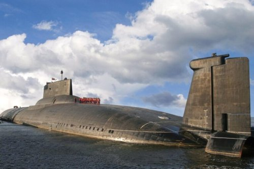 Typhoon: This Russian Missile Submarine Is the Size of an Aircraft Carrier