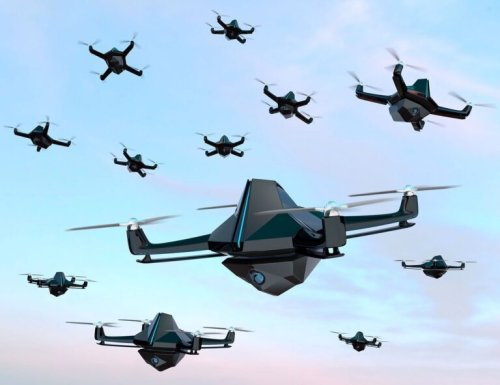 Israel's Drone Swarm a New Type of Warfare?