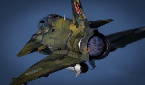 The Saab 37 Viggen Fighter Was A Thing of Beauty (With a Really Strange Feature)