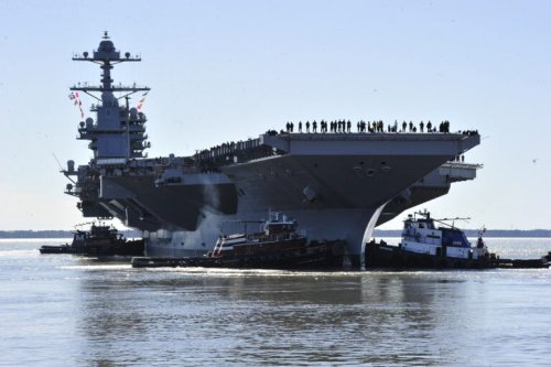 The Navy's New Aircraft Carrier is the Largest Warship Ever (With Big Problems)