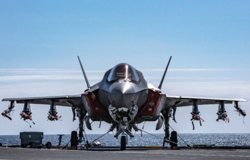 Video: Watch an F-35 Stealth Fighter Go Into 'Beast Mode'