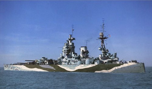 HMS Rodney: The Old Battleship That Helped Sink the Bismarck