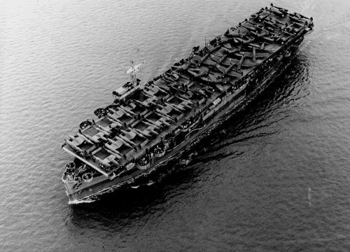 How Baby Aircraft Carriers Helped the U.S. Navy Win World War II
