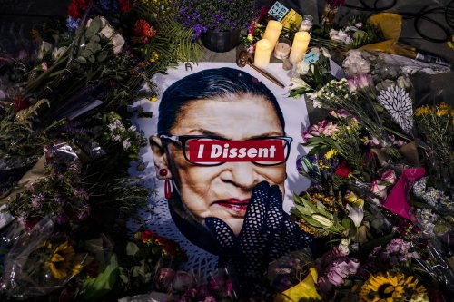 Ruth Bader Ginsburg's death continues to reverberate as abortion fight heats up