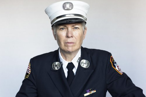 Women first responders were erased from the 9/11 story. This woman wants to change that