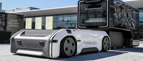 Das modulare Transport- und Fahrsystem des DLR soll die Mobilität der Zukunft mitgestalten