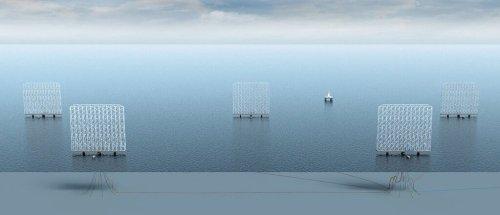 Diese neue Windkraftanlage erzeugt Strom mit über 100 Rädern