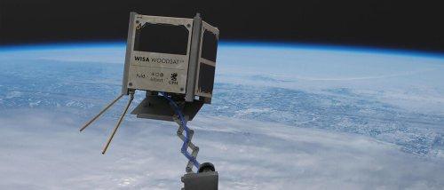 Ab November soll ein Satellit aus Holz über der Erde schweben