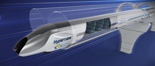 Südkorea hat einen Zug mit 1.000 km/h durch eine Röhre geschickt