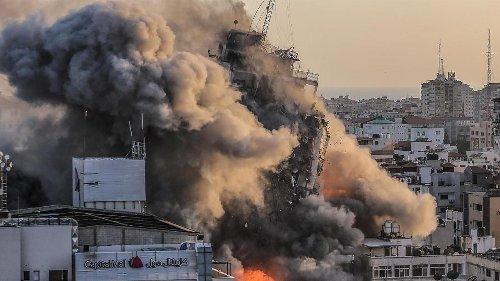 El horror de vivir bajo las bombas: las fotos del conflicto palestino-israelí