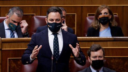"""Abascal pide que Vox ocupe la Presidencia de la Asamblea de Madrid y confía en la """"generosidad"""" del PP"""