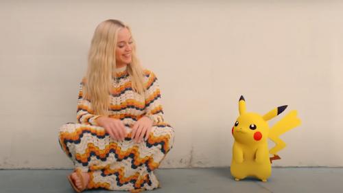 Katy Perry y Pikachu echan chispas en 'Electric', su colaboración con 'Pokémon' por el 25 aniversario de la saga