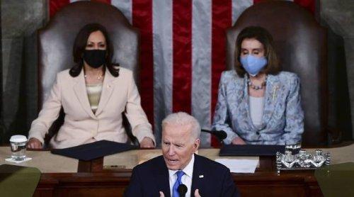 Discours de Joe Biden au Congrès: Un programme progressiste qui risque de se heurter à la réalité politique