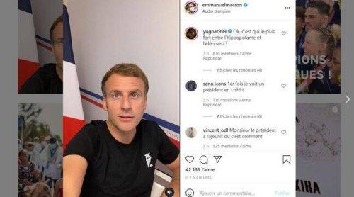 Vaccination : En tee-shirt, Macron joue la « transparence et la proximité » avec sa vidéo sur Instagram et TikTok