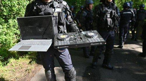 Rave party à Redon : « Du jamais-vu »… Pourquoi les gendarmes ont-ils détruit le matériel des teufeurs à coups de hache ?