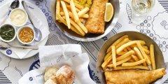 Discover restaurant menu