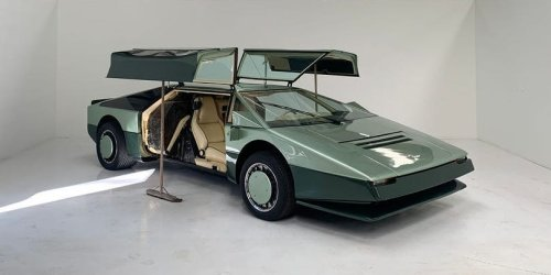 40 years ago, Aston Martin gave up plans to build world's fastest car. Now they're ready to try again.