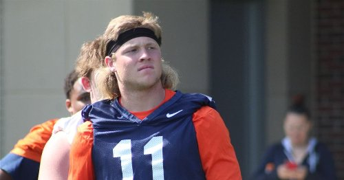 Three-star EDGE Jack Curtis camps at Illinois where he has a family connection