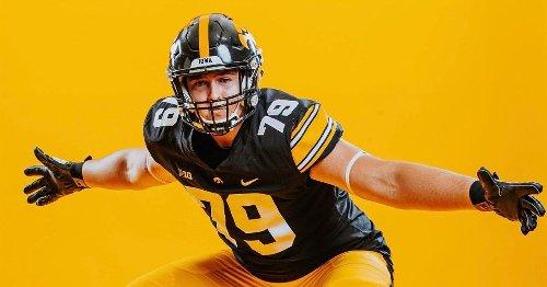 2022 OL Kale Krogh commits to Iowa