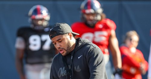 Ole Miss D-line coach Randall Joyner brings energy and new nickname to 'Juice Boys'