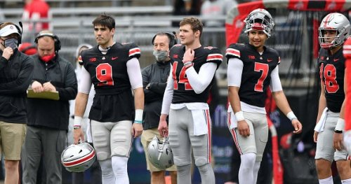 Ryan Day says nothing decided on Ohio State QB battle