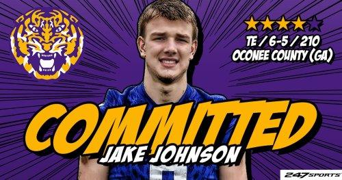 BREAKING: Jake Johnson commits to LSU