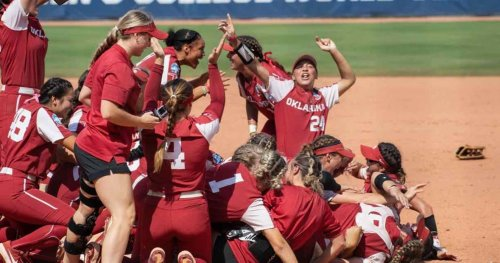 Sooners' Top 10 plays in the Women's College World Series