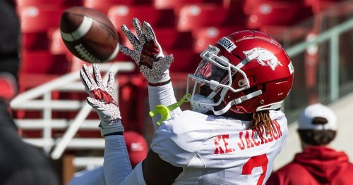 Hogs looking to fill roles at wide receiver