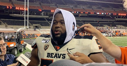 Michigan first school to offer Oregon State DT transfer