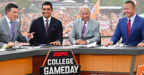 Georgia projected to be involved in two College GameDay matchups