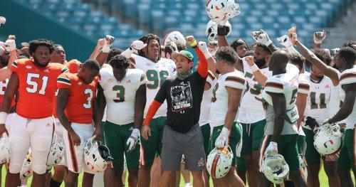 Miami ranks No. 15 in CBS Sports' post-spring top 25