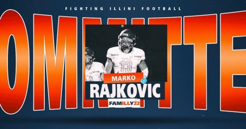 Wisconsin 2021 TE Marko Rajkovic commits to Illini as preferred walk-on
