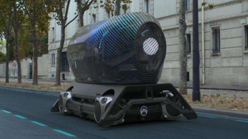Citroën schickt UFO durch Paris –das steckt hinter dem Fahr-Objekt (mit Video)