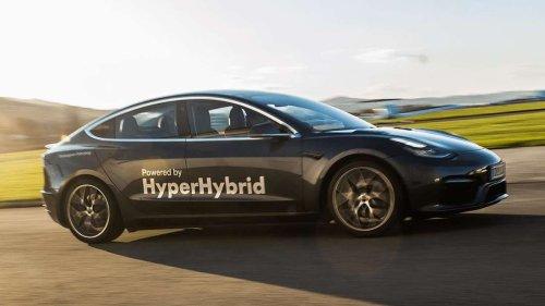 Österreicher statten Tesla mit Verbrenner aus – und das soll der Umwelt helfen