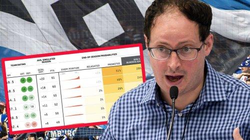 HSV-News: Er liegt immer richtig – Statistik-Guru sagt HSV diesen Platz voraus