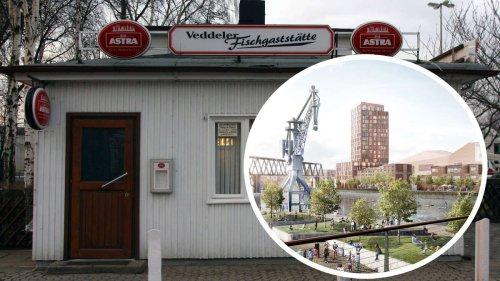 Stadteingang Elbbrücken: Muss Veddeler Fischgaststätte wegen Bauplänen schließen?