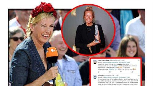 """""""Eine Schande"""": Andrea Kiewel gewinnt den deutschen Fernsehpreis und bringt Hater zum Kochen"""