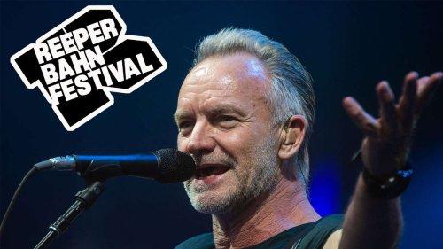 Reeperbahn Festival: Weltstar Sting singt in Hamburg