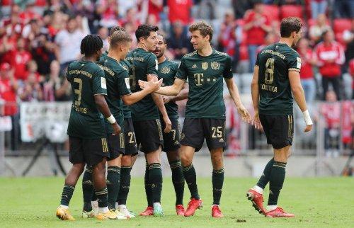 Gala-Bayern demontieren Aufsteiger Bochum