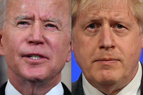 Britischer Premier Johnson empfängt US-Präsident Joe Biden in Carbis Bay