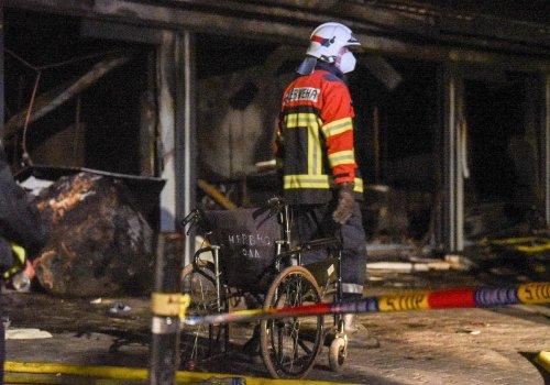 Mindestens 14 Tote bei Brand auf Corona-Station in Nordmazedonien