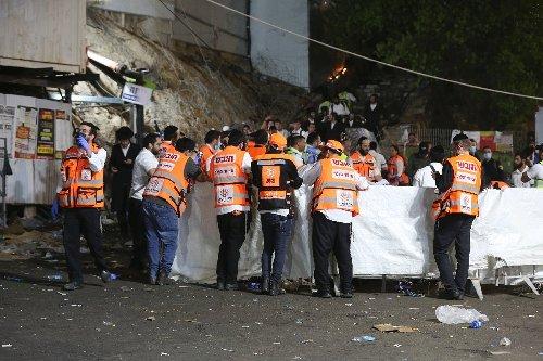 Mindestens 44 Tote durch Massenpanik bei religiösem Fest in Israel