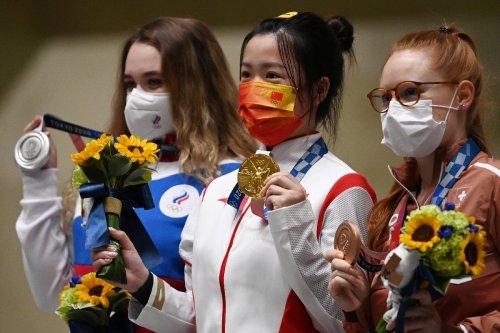 Olympia : Erste Goldmedaille an chinesische Sportschützin Yang
