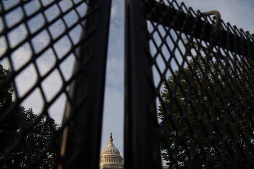 Rechte Aktivisten demonstrieren nahe des US-Kapitols